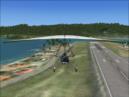 Microsoft Flight Simulator  - Game for Cyber ExerCycle