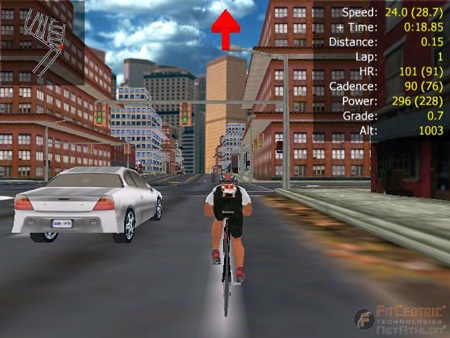NetAthlon - Racing Game for Cyber ExerCycle